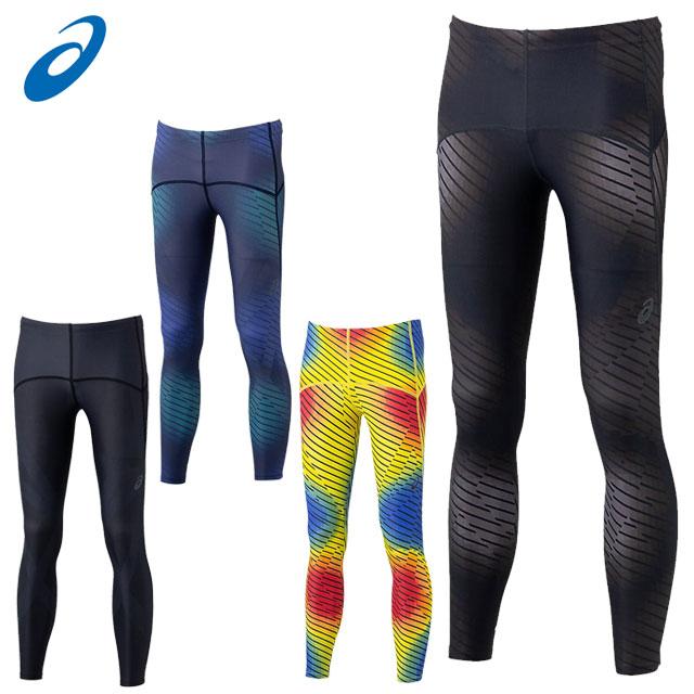 アシックス トレーニングウエア メンズ MMS LONG TIGHT2.5 2011B110 asics 腰・太もも・膝・ふくらはぎのサポート性を強化