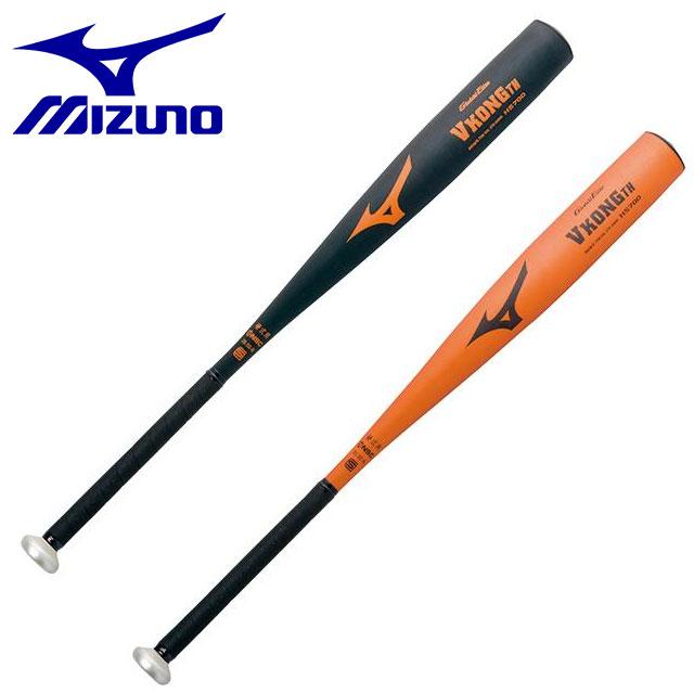 ミズノ 野球 バット 硬式用 金属製 ミドルバランス グリップ太め グローバルエリート VコングTH 83cm 900g以上 MIZUNO 2TH24230