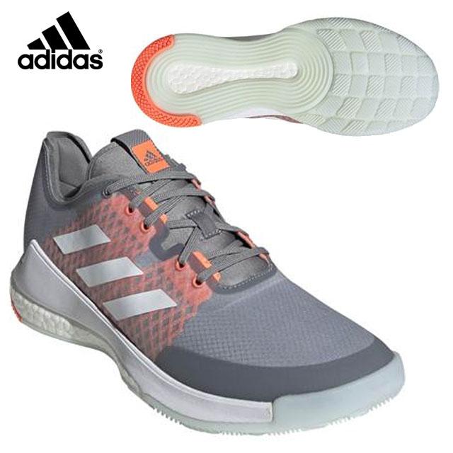 アディダス バレーボール メンズ クレイジーフライト M EG2343 adidas 靴下のように快適なフィット 軽量 ダイナミックなシルエット
