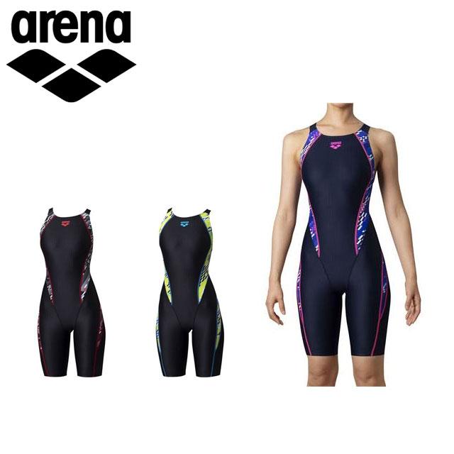 アリーナ 水着 競泳 レディース 水泳 セイフリーバックスパッツ FINA公認 初級 arena ARN0075W