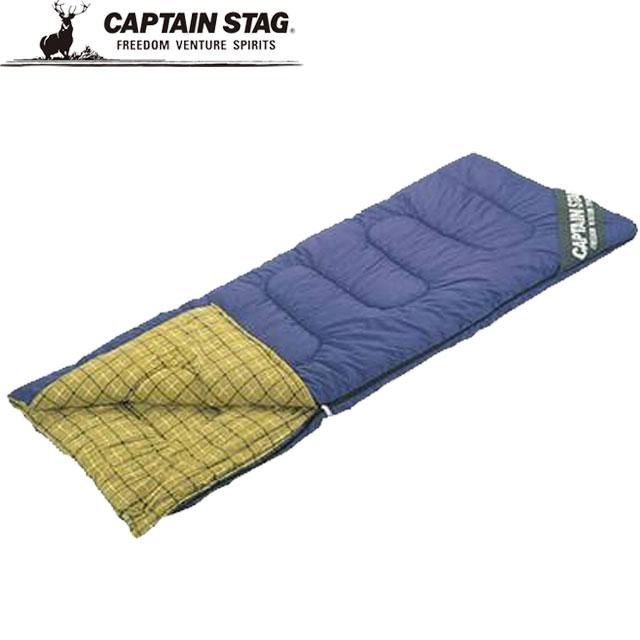 キャプテンスタッグ 寝袋 一般 シュラフ NEWフォリア シュラフ 寝袋 封筒型 3シーズン用 チェック柄 キャンピングベッド マット アウトドア キャンプ レジャー 自然 用具 用品 小物 雑貨 アイテム グッズ アクセサリー F CAPTAIN STAG M3413