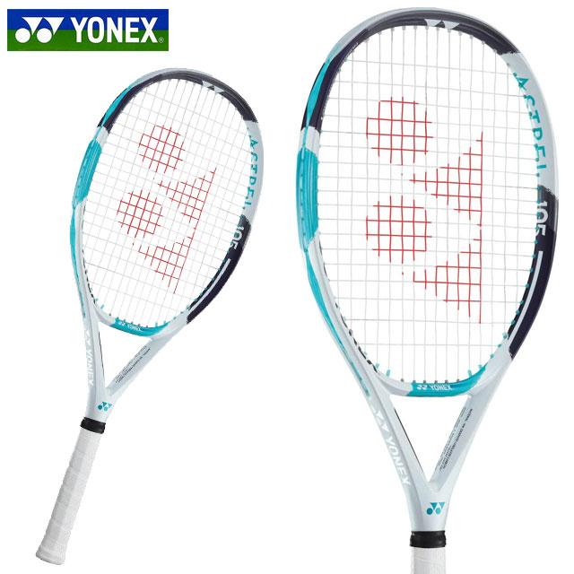 ヨネックス テニス ラケット アストレル 105 (フレームのみ) YONEX AST105 高い振動吸収性 27インチ アイソメトリック ライトブルー
