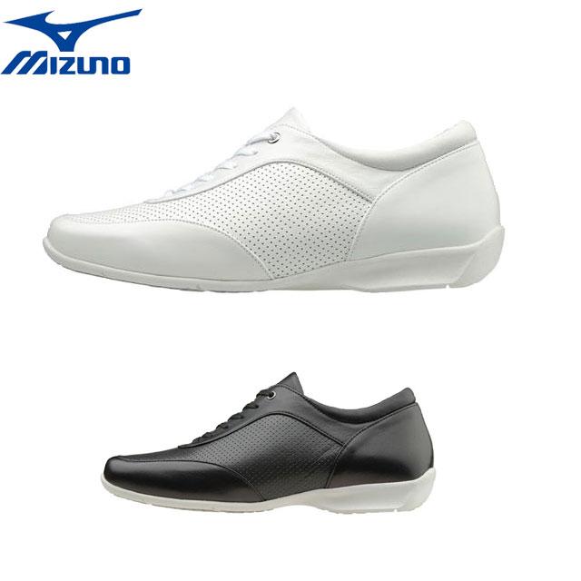 黒 シューズ B1GH1664 ホワイト MIZUNO ウォーキング セレクト620 快適 ブラック 白 エレガント 靴 ミズノ