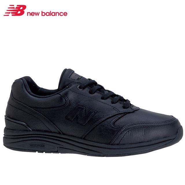 スポーツ カジュアル ニューバランス 内側ファスナー付き 快適な歩きをサポート new ウォーキングシューズ ブラック balance 2E 76140191 MW585 メンズ