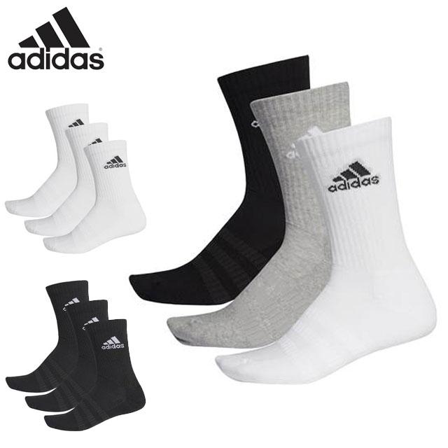買取 3 980円 税込 以上で 送料無料 アディダス 靴下 メンズ adidas レディース 5☆大好評 スポーツアクセサリー 3P FXI66 3足組 パフォーマンス クルーソックス