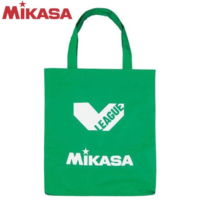 無料 3 980円 税込 以上で 送料無料 数量は多 ミカサ MIKASA バッグ Vリーグ ホック式のナイロン製レジャーバック バレーボール ライトグリーン BA21VLG レジャーバッグ BAG