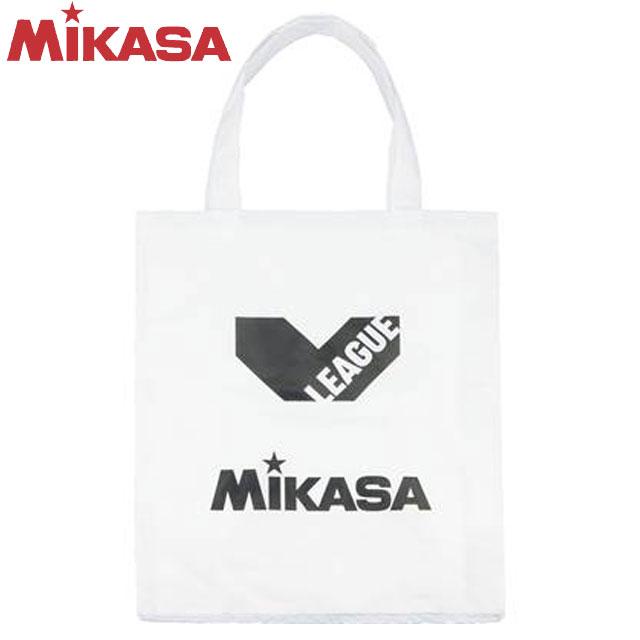 3 980円 税込 予約 以上で 送料無料 ミカサ MIKASA バッグ BAG ナイロン ホワイト Vリーグ BA21VW レジャーバッグ ホック式 バレーボール お求めやすく価格改定