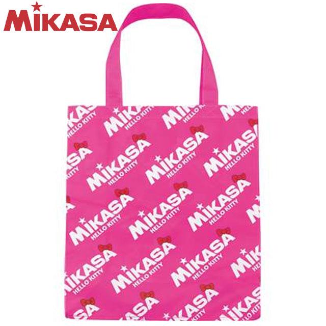 3 980円 税込 以上で 送料無料 いよいよ人気ブランド ミカサ MIKASA バッグ マルチスポーツ ピンク1 BA21-KT1-P ナイロン 折りたたみホック付 100%品質保証 BAG ハローキティコラボレジャーバッグ