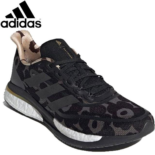 送料無料 アディダス adidas シューズ GZ8906 SUPERNOVA+WXMARIMEKKO レディース 靴 スニーカー ウィメンズランニングシューズ 通気性 フィット 反発力 陸上 ランニング