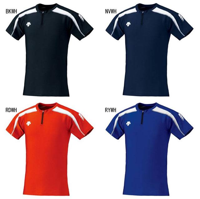 DESCENTE (デサント)  マラソン・ランニング シャツ・インナー DRN-5102 TRACK SHIRT 半袖Tシャツ 吸汗速乾