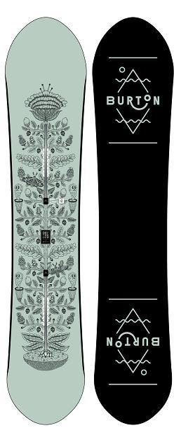 BURTON バートン 18-19モデル DAY TRADER デイトレーダー WOMEN,S スノーボード 板 フリーライド パウダー オールラウンド 【 送料無料 】 正規品