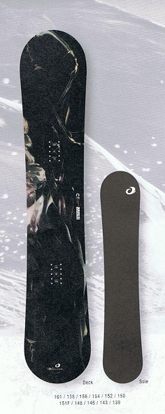 OGASAKA オガサカ 19-20モデル CT シーティー スノーボード 板 国産 【 送料無料 】フリースタイル ディレクショナル カービング 正規品
