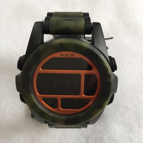 時計 NIXON 高品質新品 送料無料 SALE WATHCH CAMO UNIT BLACK 新色追加 MATT SS