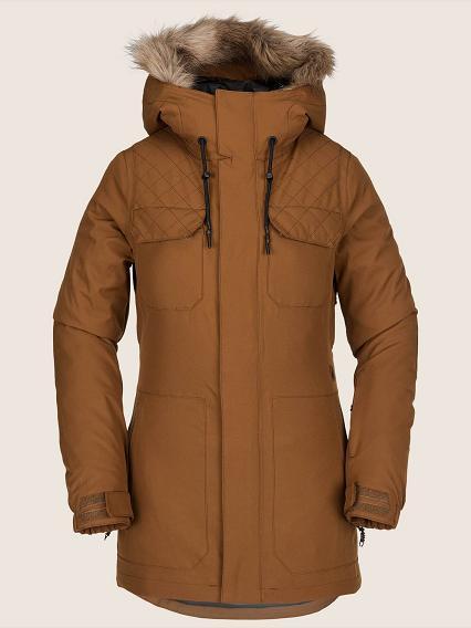 18-19モデル VOLCOM ボルコム ウェア SHADOW INS JACKET シャドウインスジャケット WOMEN,S 送料無料 正規品