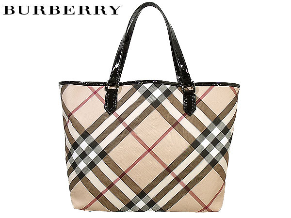 Burberry BURBERRY PRORSUM ☆ bags (tote bag) 3489040 beige × black LL NICKIE  Super Nova check tote bag with pouch SUPERNOVA sale! Women s casual commuter 67263be62eb79
