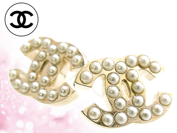 And Chanel Review Accessories Earrings A26971 White Gold Pearl Cc Women S