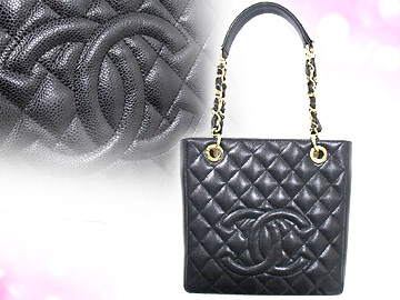 c0a2d65d8bfc Chanel CHANEL ☆ bags (tote bag) A50994 black タイムレスクラッシック caviar skin CC  stitch medium チェーントート 00 V low-price % off!! Ladies ☆ casual bag ...
