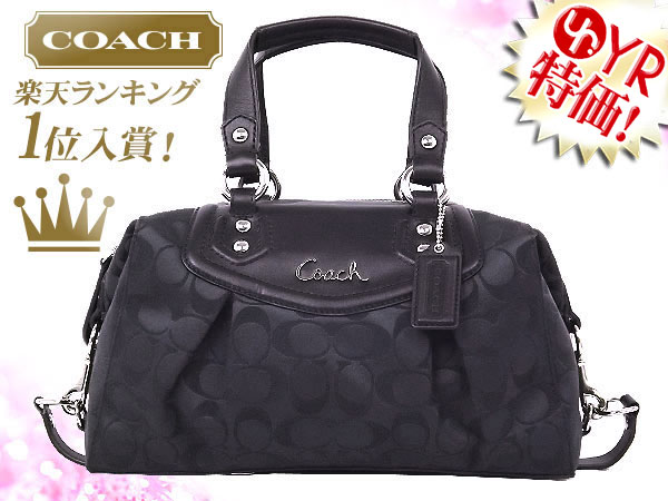 72600c299638 And writing coach COACH ☆ reviews! Bags (handbags) F19242 black gray ×  black Ashley signature satchel outlet product discount % Ladies back sale  SALE store