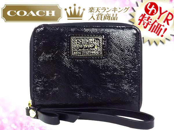938d99b1baae7 And writing coach COACH ☆ reviews! Wallets (2 fold wallet) F48082 black  Daisy poppy liquid gloss medium zip around outlet product discount %  Women s sale ...