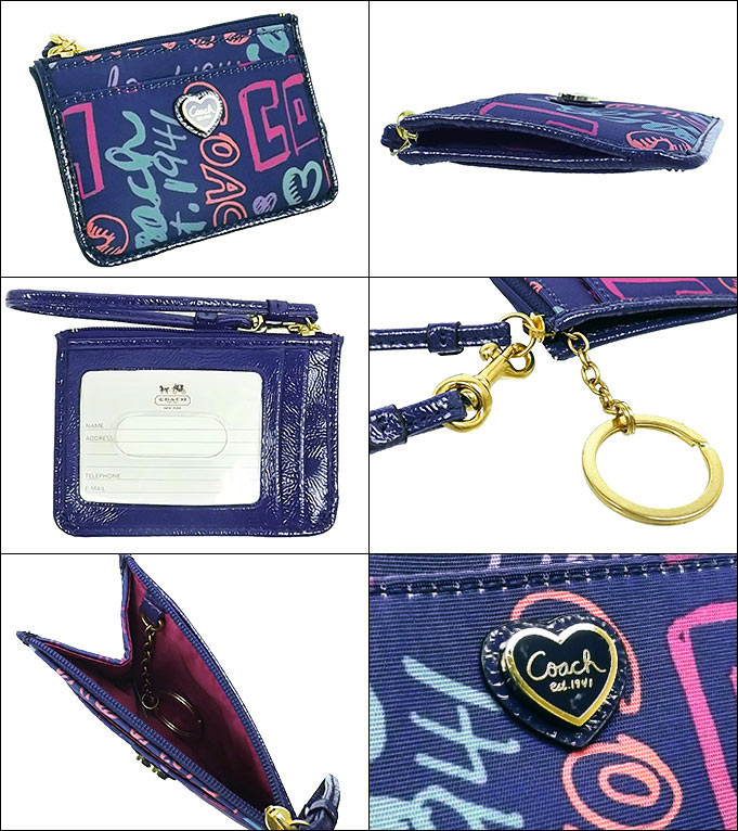 coach poppy bags outlet iuc1  COACH purse coach  coin F48349 multicolor Daisy poppy story patch ID  skinny outlet