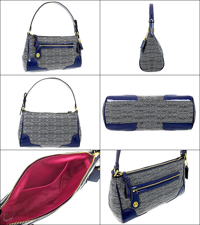 coach poppy bags outlet iuc1  And writing coach COACH  reviews! Bags handbags F49771 Navy poppy Oxford  signature