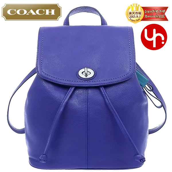 7428cafebf37 And writing coach COACH ☆ reviews! Bag (backpack) F24385 French blue Parker  leather backpacks outlet product discount % Women s bags sale SALE store