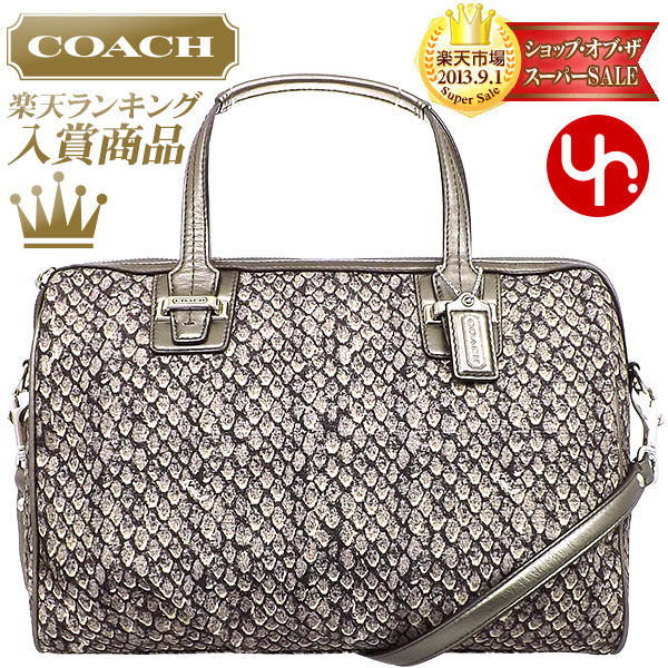 552d0cc62346 And writing coach COACH ☆ reviews! Cheap bags (handbags) F26037 gunmetal Taylor  snake print satchel outlet items! Women s sale SALE mail order back