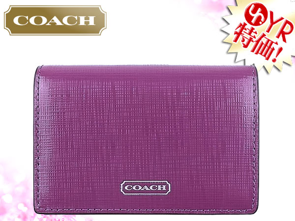 Import collection rakuten global market coach coach accessory coach coach accessory card holders f67767 amethyst saffiano patent leather business card case outlet products cheap womens sale sale store colourmoves