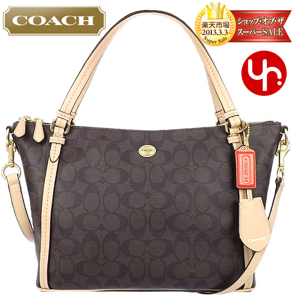 ... saddle luxury signature mini Ruby And writing coach COACH ☆ reviews!  Bags (tote bag) F28366 Brown times ... d45b46654f47e