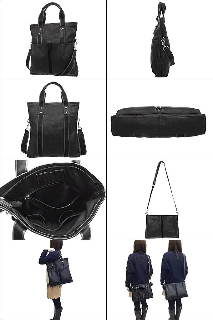 和写作教练教练 ★ 点评! 袋 (手提袋) F70558 黑色遗产 Web 皮革折叠式手提包出口产品便宜! 男装女装品牌销售店销售也通勤 2015 年限制的价格回