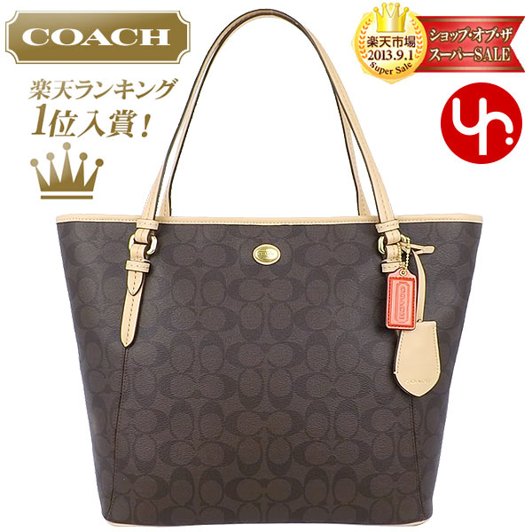 f56b9fe51d And writing coach COACH ☆ reviews! Bags (tote bag) F28365 Brown  times  ...