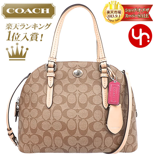 And writing coach COACH ☆ reviews! Bags (handbags) F26184 khaki x Tan  Peyton signature Cola ドームド satchel outlet products cheap! Women s brand sale  ... f38cb67fdc