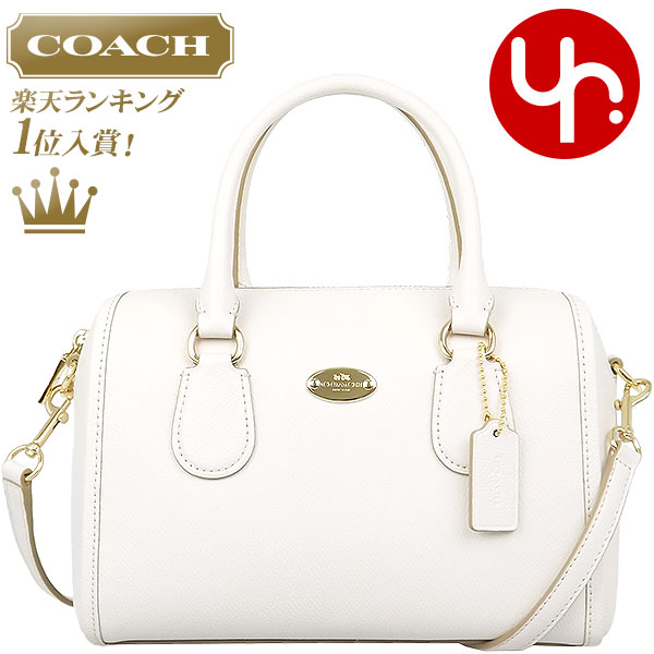 884396ec0575b And writing coach COACH ☆ reviews! Cheap bags (shoulder bag) F33329 chalk luxury  cross-grain leather Bennett Mini Satchel outlet items!