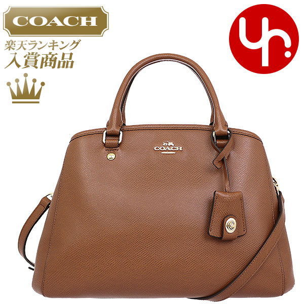 And writing coach COACH ☆ reviews! Bags (tote bag) F34607 saddle luxury  cross-grain leather small Margot carryall outlet products cheap! 7eb4d7f971c2c