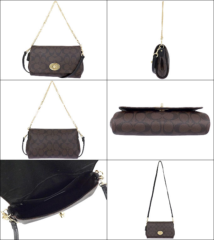 where to buy coach womens bags 37462 3a7e4  usa coach bag coach shoulder bag  f34615 34615 brown x black luxury signature mini ruby cross 35c0342a94742