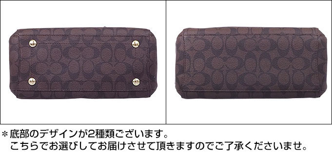 And writing coach COACH ☆ reviews! Bags (tote bag) F34605 Brown x black  luxury signature mini Margot carryall outlet products cheap! ff8e27b2e0cce