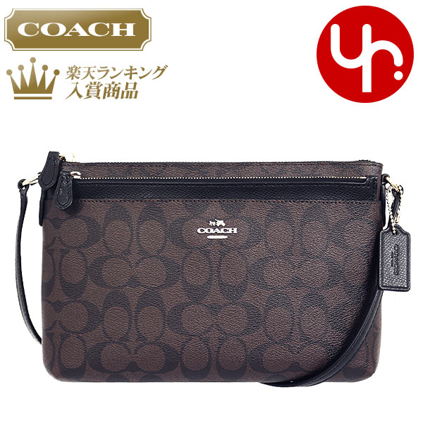 f8f1a0fc911a Coach COACH bag shoulder bag review and F52657 brown   black luxury  signature PVC EW cross body with leather pouch products at outlet prices  cheap womens ...