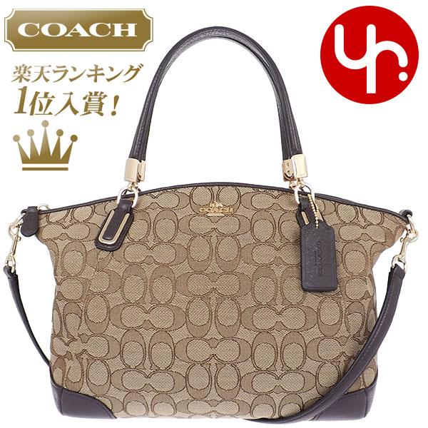 2d1149f1a495 And writing coach COACH ☆ reviews! Bags (handbags) F36181 khaki   Brown  outline ...
