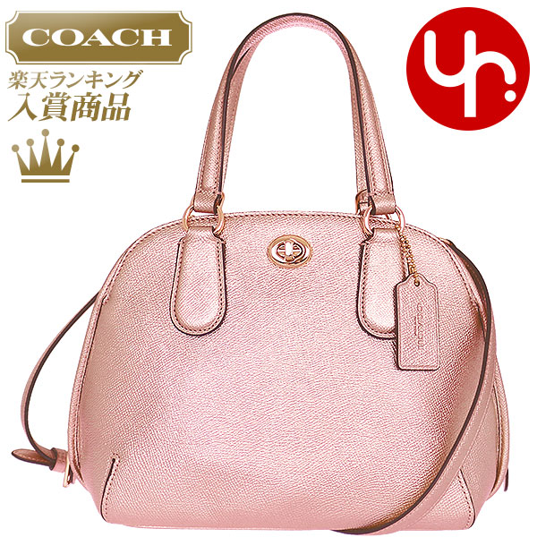 8a1404fc484c Coach coach COACH bag handbag F35330 rose gold Prince metallic cross-grain  leather Mini Satchel products at outlet prices cheap womens brand sale  store SALE ...