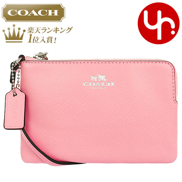 Special coaches COACH accessory pouch F53429 brush luxury cross-grain leather corner zip wristlet products at outlet prices cheap womens brand sale store SALE 2015 YR limited price 02P05Sep15