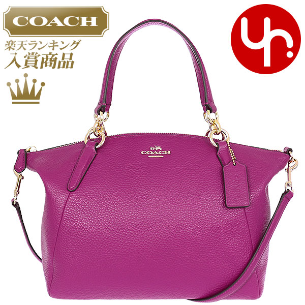 c353e0b2a3ca Coach COACH bag handbag special F36675 Cranberry coach luxury pebbled  leather small Kelsey satchel products at ...