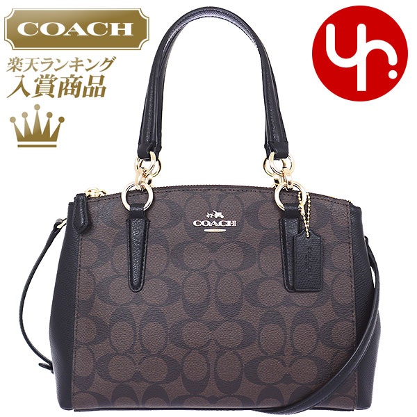 Special tote bags coach COACH bag F36718 Brown x black coach luxury  signature mini Christie carryall ... e5c1efbedb