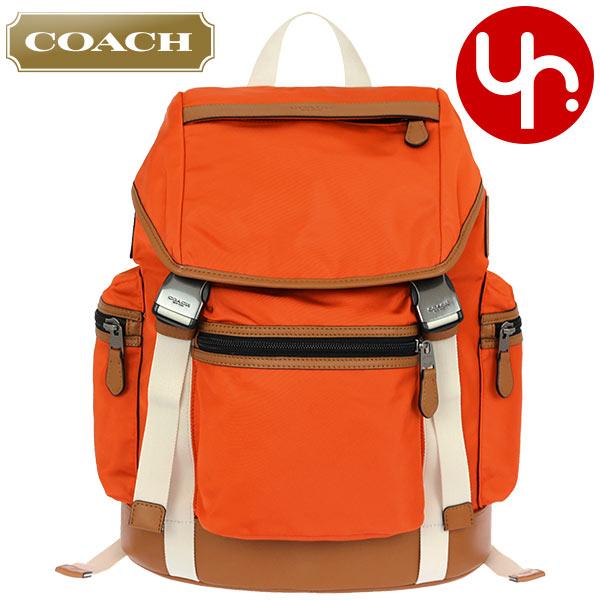 教练COACH包帆布背包F71884橙子特别教练尼龙旅行背包奥特莱斯物品非常便宜的人分歧D名牌促销邮购SALE通勤旅行圣诞节YR限定价格帆布背包背包
