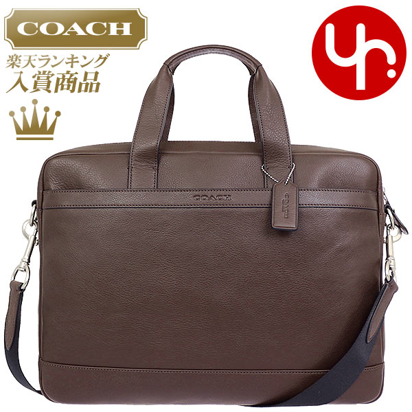 Coach COACH bag business bags F71561 mahogany coach Hudson smooth leather  Briefcase products at outlet prices cheap mens Womens brand sale store SALE  also ... f3a4f852e