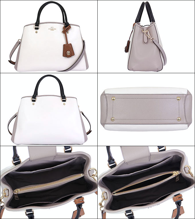9778ee2b3375d import-collection  Coach COACH bag tote bag F37248 chalk x grave Chi ...