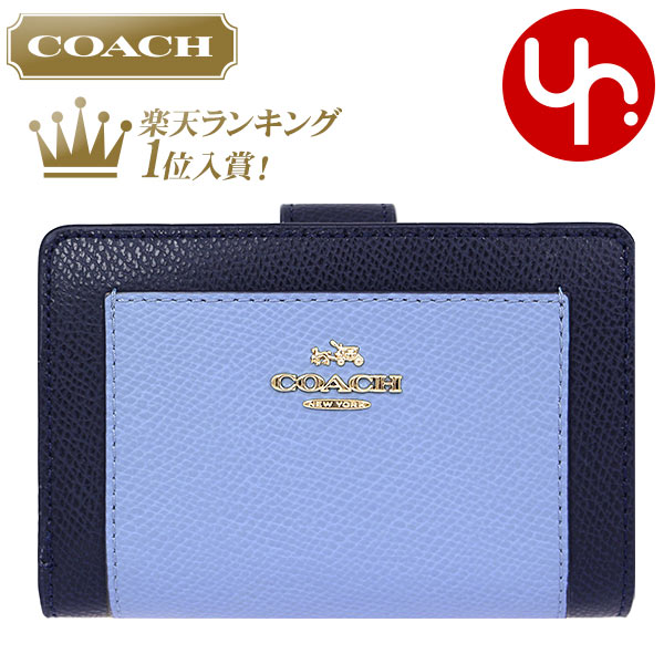 99cdeba21b Coach COACH purse two bi-fold wallet review and then times F53839 midnight  x Blue