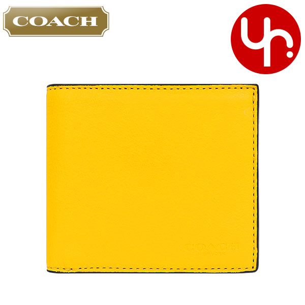 daf91af0ae Coach COACH purse two bi-fold wallet review and next F75003 banana coach  calf leather ...