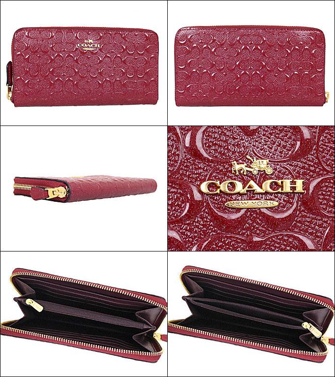 f431cf6ffaba コーチCOACH財布長財布F54805ダークレッドレビューを書くと送料無料コーチラグジュアリー