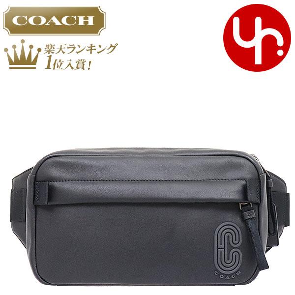 コーチ COACH バッグ ショルダーバッグ F89917 ブラック 特別送料無料 スムース レザー エッジ ウエスト ベルト バッグ アウトレット品メンズ レディース ブランド 通販 斜めがけ 2020 母の日 あす楽