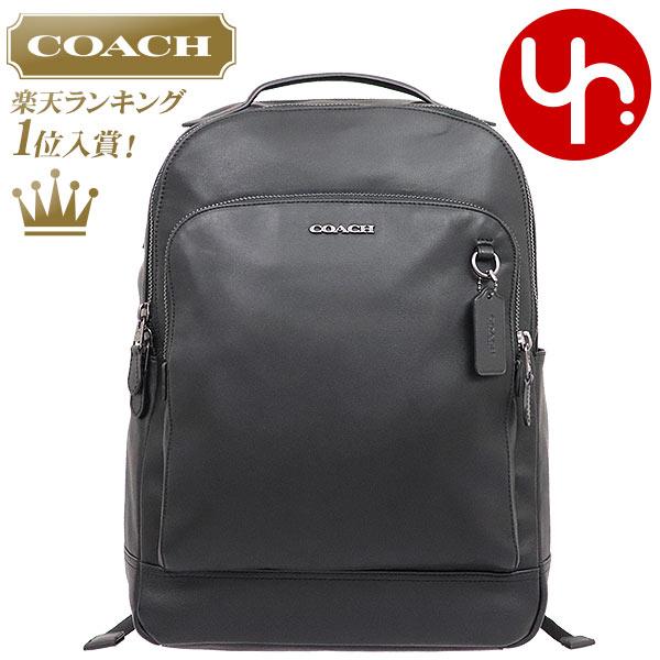 コーチ COACH バッグ リュック F89939 ブラック 特別送料無料 コーチ グラハム スムース レザー バックパック アウトレット品メンズ レディース ブランド 通販 通勤 2020 母の日 あす楽